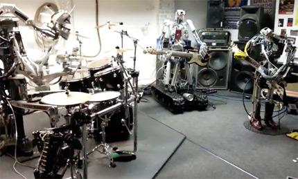 роботы музыканты смотреть онлайн