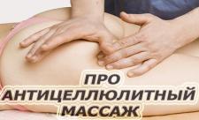 Антицеллюлитный массаж отзывы