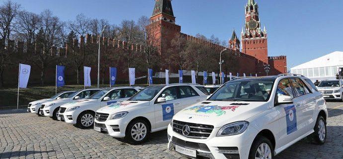 Что подарили олимпийцам в России